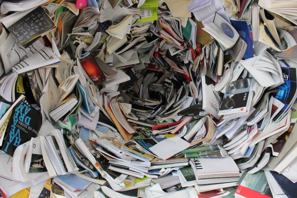 Bücher ausmisten