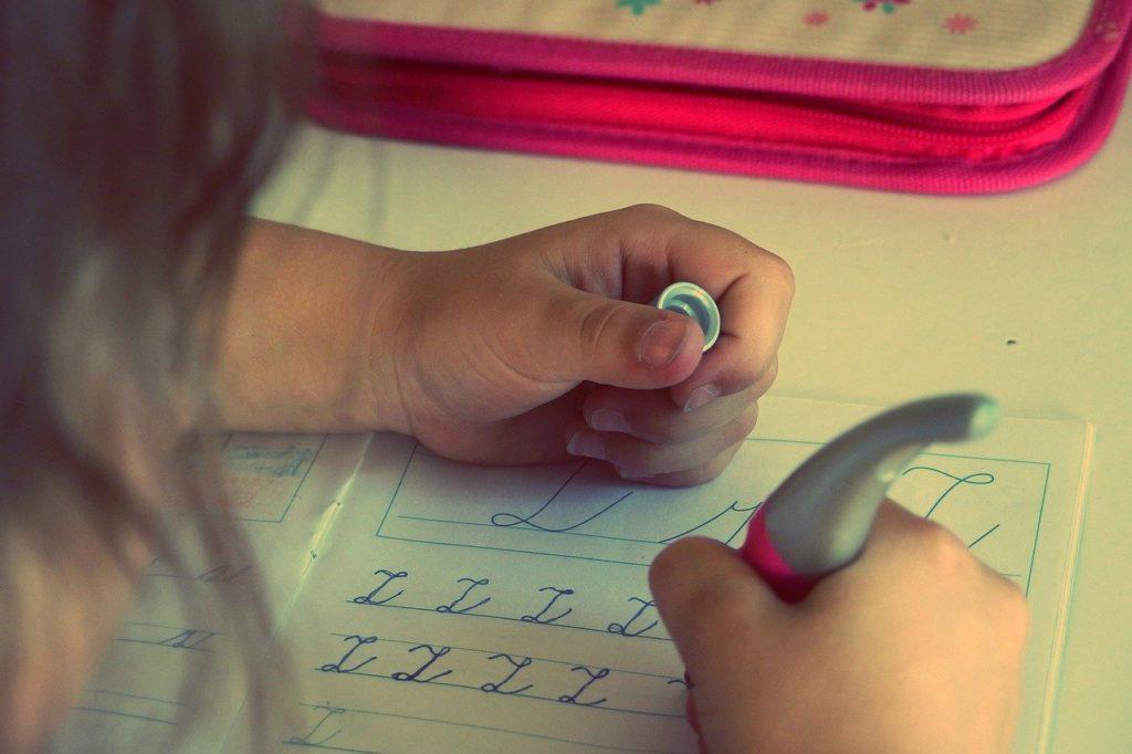 Schreiben in der Schule