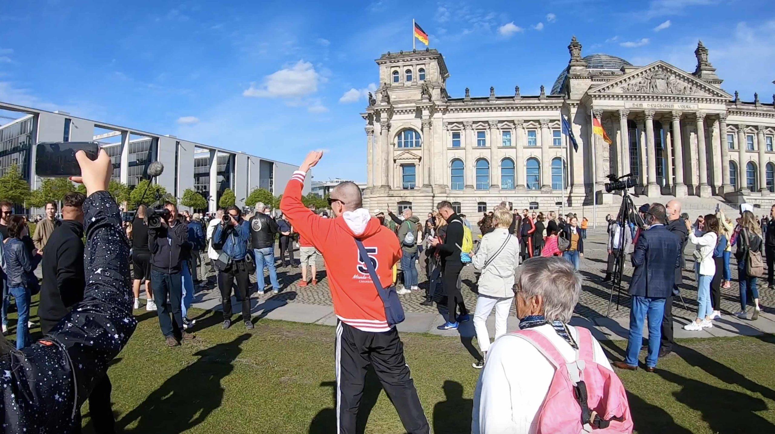 Demo für Bürgerrechte in Berlin