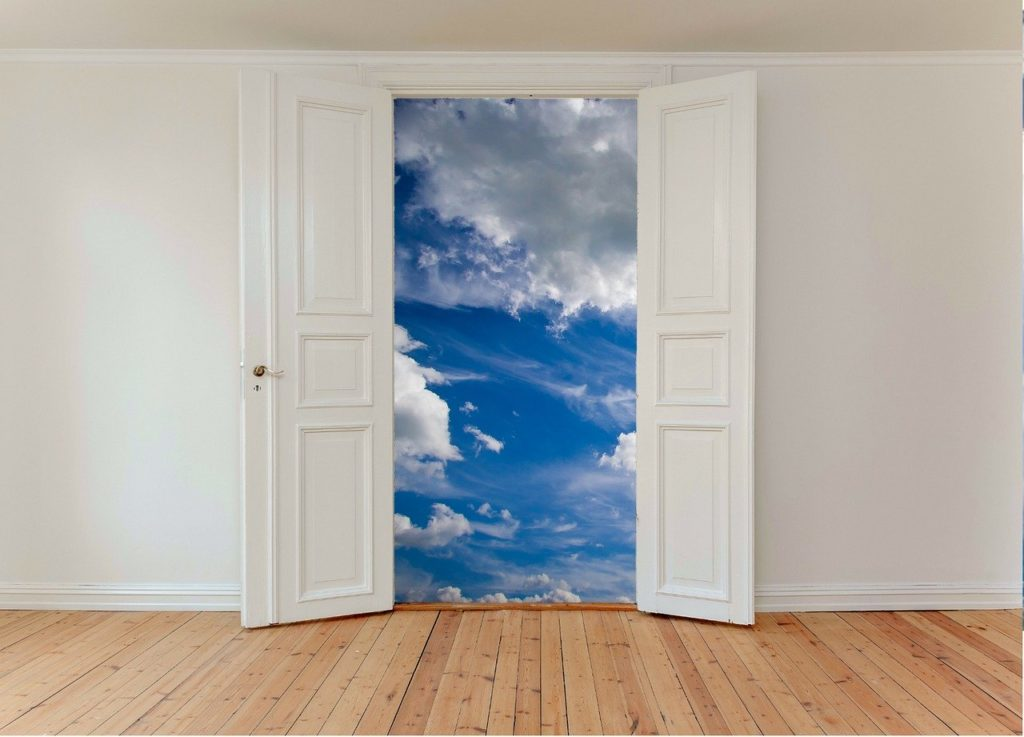 Gedanken öffnen Türen