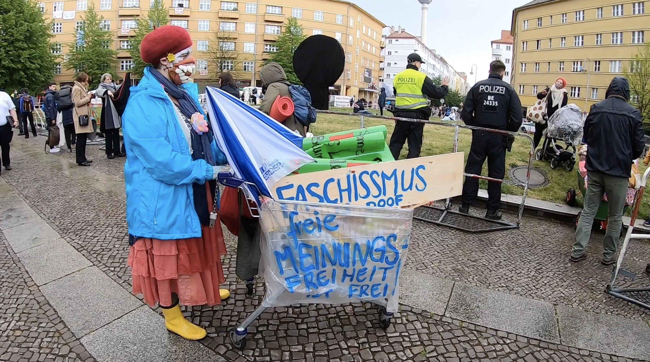 Nicht ohne uns Demo in Berlin